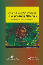 Analysis and Performance of Engineering Materials by Gennady E. Zaikov