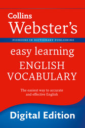Webster's Easy Learning English Vocabulary (Collins Webster's Easy Learning) by Collins