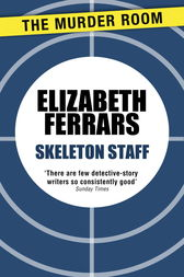 Skeleton Staff by Elizabeth Ferrars