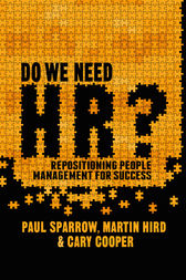 Do We Need HR? by Paul Sparrow