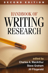 Handbook of Writing Research, Second Edition by Charles A. MacArthur