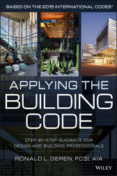 Applying the Building Code by Ronald L. Geren
