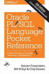 Oracle PL/SQL Language Pocket Reference by Steven Feuerstein