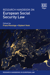 Research Handbook on European Social Security Law