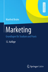Marketing by Manfred Bruhn