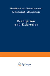 Resorption und Exkretion by NA Adler