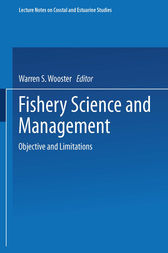 Fishery Science and Management by Warren S. Wooster
