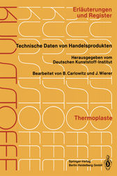Thermoplaste by Dr.-Ing. Bodo Carlowitz
