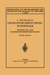 Oxydations-Reductions-Potentiale by Leonar Michaelis