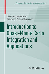 Introduction to Quasi-Monte Carlo Integration and Applications by Gunther Leobacher