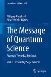 The Message of Quantum Science by Philippe Blanchard