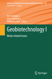 Geobiotechnology I by Axel Schippers