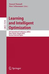 Learning and Intelligent Optimization by Youssef Hamadi