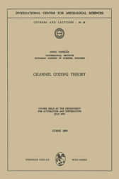 Channel Coding Theory by I. Csiszar