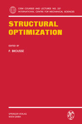 Structural Optimization by P. Brousse