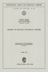 Theory of Bilinear Dynamical Systems by Antonio Ruberti