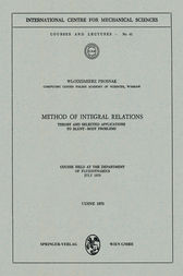 Method of Integral Relations by W. Prosnak