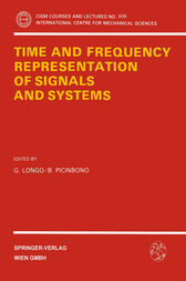 Time and Frequency Representation of Signals and Systems by G. Longo