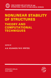 Nonlinear Stability of Structures by A.N. Kounadis