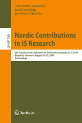 Nordic Contributions in IS Research by Trine Hald Commisso