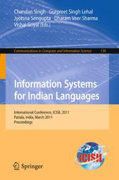 Information Systems for Indian Languages by Chandan Singh