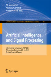 Artificial Intelligence and Signal Processing by Ali Movaghar