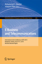 E-Business and Telecommunications by Mohammad S. Obaidat