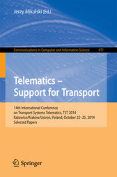 Telematics - Support for Transport by Jerzy Mikulski