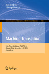 Machine Translation by Xiaodong Shi