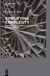 Simplifying Complexity by George E. Yoos
