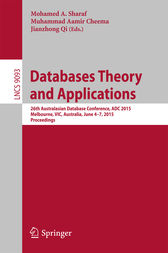 Databases Theory and Applications by Mohamed A. Sharaf