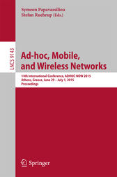 Ad-hoc, Mobile, and Wireless Networks by Symeon Papavassiliou