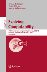 Evolving Computability by Arnold Beckmann