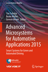 Advanced Microsystems for Automotive Applications 2015 by Tim Schulze