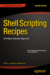 Shell Scripting Recipes by Chris Johnson