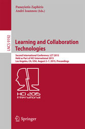 Learning and Collaboration Technologies by Panayiotis Zaphiris