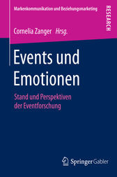 Events und Emotionen by Cornelia Zanger