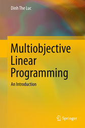 Multiobjective Linear Programming by Dinh The Luc