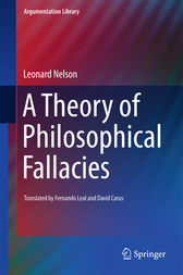 A Theory of Philosophical Fallacies by Leonard Nelson