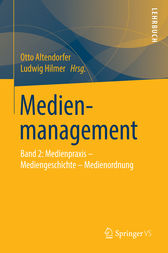 Medienmanagement by Otto Altendorfer