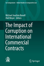The Impact of Corruption on International Commercial Contracts by Michael Joachim Bonell