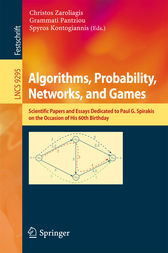 Algorithms, Probability, Networks, and Games by Christos Zaroliagis