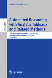 Automated Reasoning with Analytic Tableaux and Related Methods by Hans De Nivelle