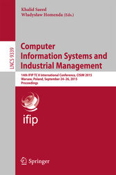 Computer Information Systems and Industrial Management by Khalid Saeed