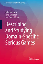 Describing and Studying Domain-Specific Serious Games by Joke Torbeyns