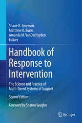 Handbook of Response to Intervention by Shane R. Jimerson