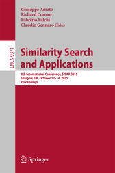 Similarity Search and Applications by Giuseppe Amato