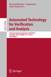 Automated Technology for Verification and Analysis by Bernd Finkbeiner
