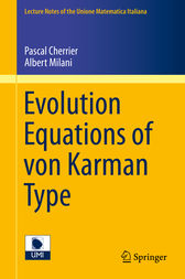 Evolution Equations of von Karman Type by Pascal Cherrier
