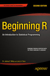 Beginning R by Larry Pace